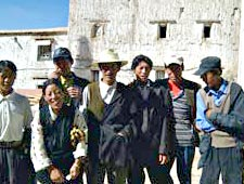 Pilgrims from the Penpo region of Tibet
